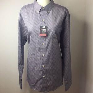 Van Heusen Slim Fit Button Down shirt XL Lilac
